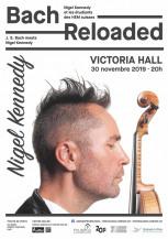 affiche du concert de Nigel Kennedy et les Etudiants des Hautes Ecoles Suisses