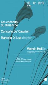 flyer concerts du dimanche concerto de cavaliero macello di lisa direction